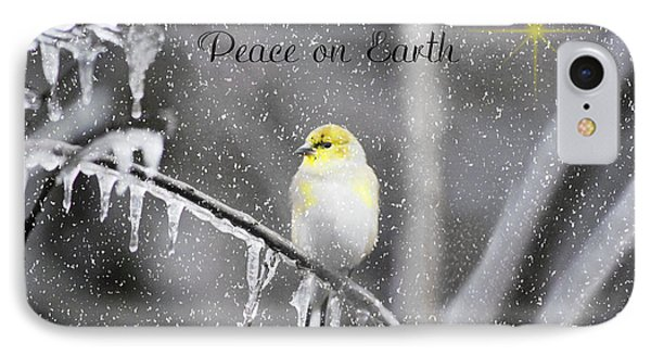 IPhone Case featuring the photograph Christmas Peace by Linda Segerson