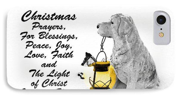 Christmas Prayers IPhone Case