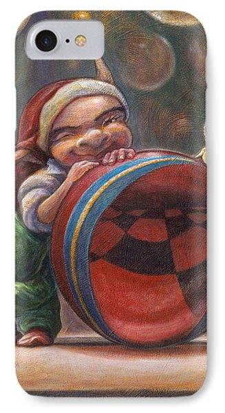 Christmas Reflections IPhone Case by Leonard Filgate