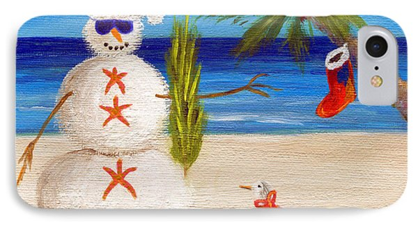 Christmas Sandman IPhone Case