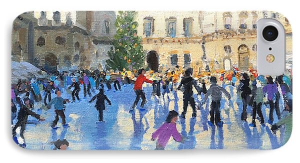 Christmas Somerset House IPhone Case by Andrew Macara