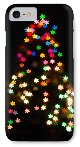 Christmas Stars Phone Case by Mike Lee