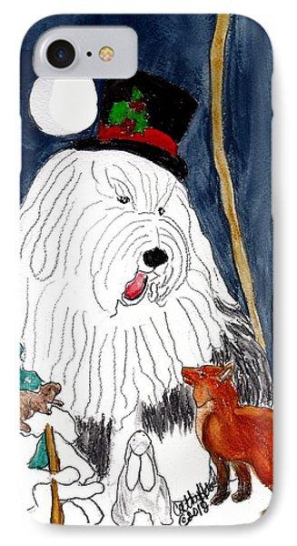 Christmas Story Teller IPhone Case