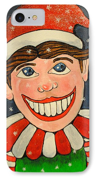 Christmas Tillie IPhone Case by Patricia Arroyo