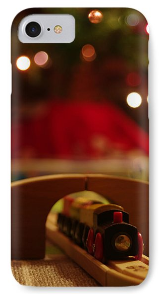 Christmas Train Phone Case by John Ayo