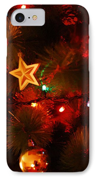 Christmas Tree IPhone Case by Gina Dsgn