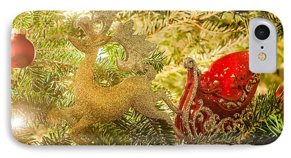 IPhone Case featuring the photograph Christmas Tree Ornaments by Alex Grichenko