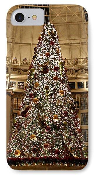 Christmas Tree Phone Case by Sandy Keeton