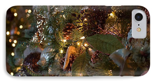IPhone Case featuring the photograph Christmas Tree Splendor by Patricia Babbitt
