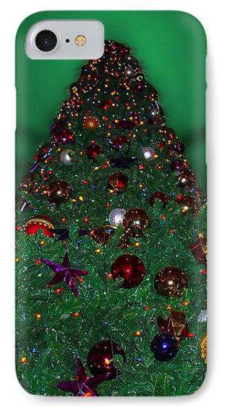 Christmas Tree Phone Case by Thomas Woolworth