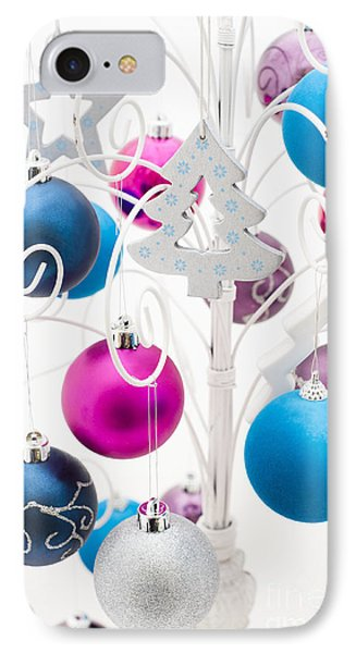 Christmas Tree Tree Phone Case by Anne Gilbert