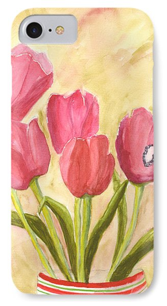 Tulip Time Phone Case by Mickey Krause