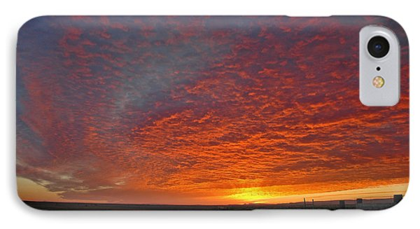 IPhone Case featuring the photograph Christmas Valley Sunrise by Nick  Boren