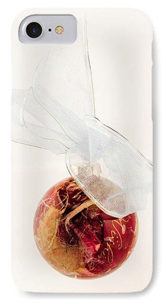 Christmas Decoration Decoupaged IPhone Case by Vizual Studio