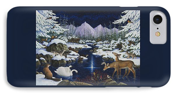 Christmas Wonder IPhone Case by Lynn Bywaters