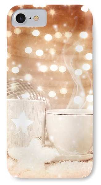 Christmastime Coffee Phone Case by Anna Om