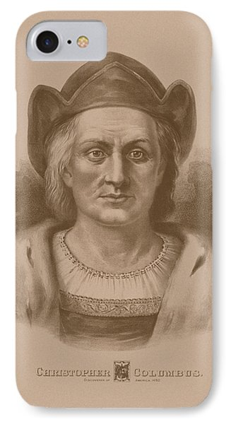 Christopher Columbus IPhone Case by War Is Hell Store
