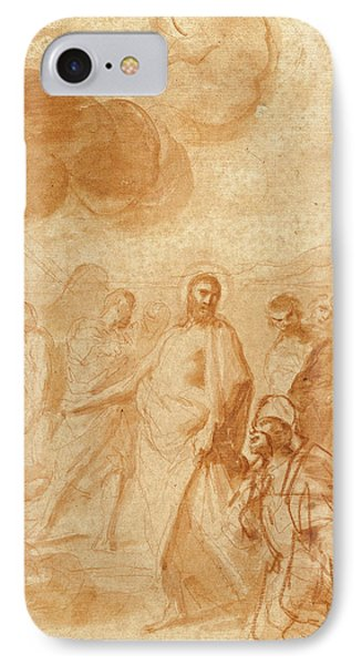 Christs Command To St. Peter, Feed My Sheep Pasce Oves Mea IPhone Case by Litz Collection