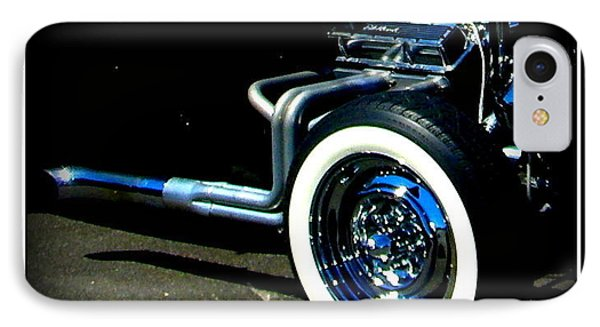 IPhone Case featuring the photograph Chrome  by Bobbee Rickard
