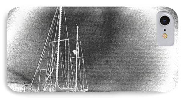 Chromed Sailboats In Key Largo IPhone Case by Belinda Lee