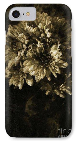 Chrysanthemum IPhone Case by Dariusz Gudowicz