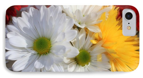Chrysanthemum Punch IPhone Case by Cathy  Beharriell