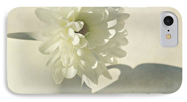 Chrysanthemum Shadow Phone Case by Lyn Randle