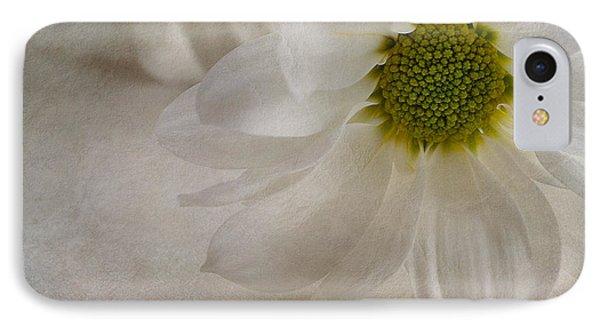 Chrysanthemum Textures Phone Case by John Edwards