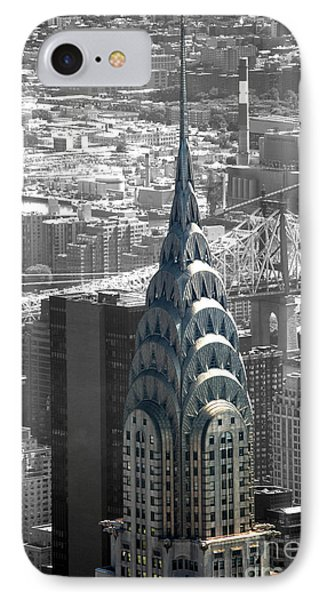 Chrysler Building IPhone Case by Angela DeFrias