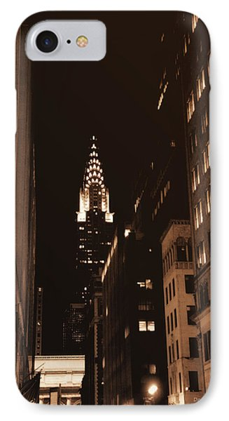 Chrysler Building Phone Case by Donna Blackhall