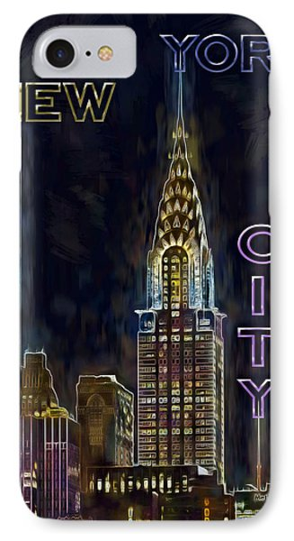 Chrysler Building New York City Nyc IPhone Case by Susan Candelario