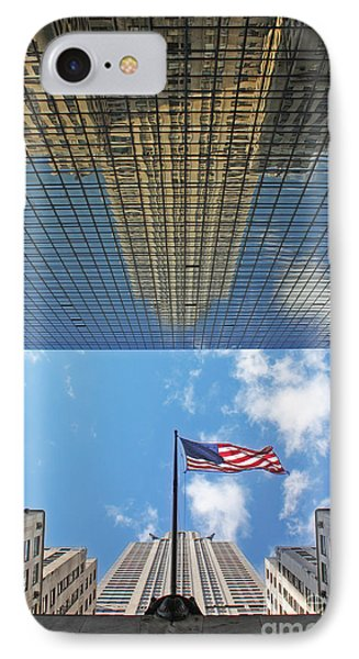 Chrysler Building Reflections Vertical 2 Phone Case by Nishanth Gopinathan