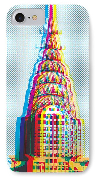 Chrysler Pop Art IPhone Case