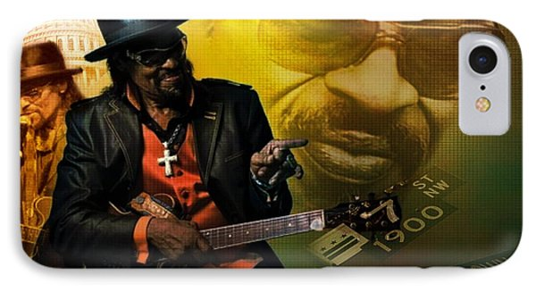 Chuck Brown IPhone Case by Lynda Payton