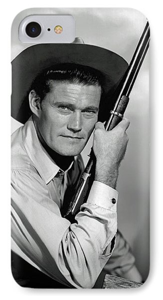 Chuck Connors - The Rifleman IPhone Case by Mountain Dreams