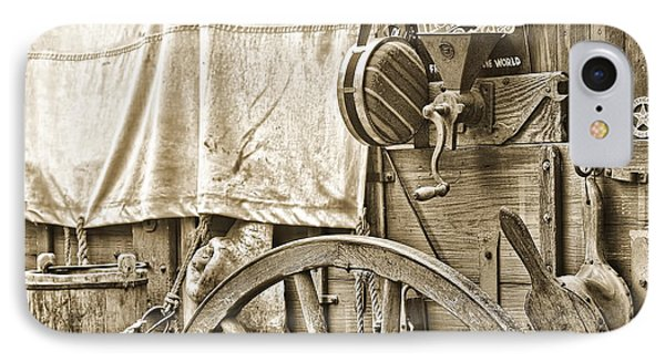 Chuck Wagon IPhone Case by Kenny Francis
