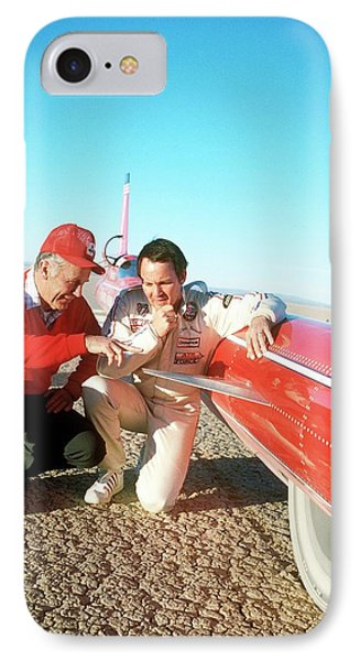 Chuck Yeager And Stan Barrett IPhone Case