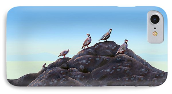 Chuckers - Calling In The Flock Phone Case by Laird Roberts