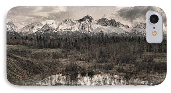Chugach Mountain Range IPhone Case