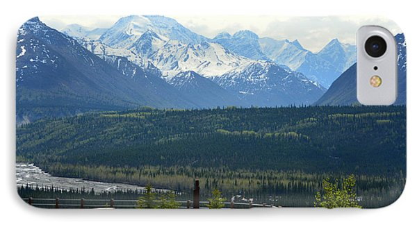 Chugach Mountains IPhone Case