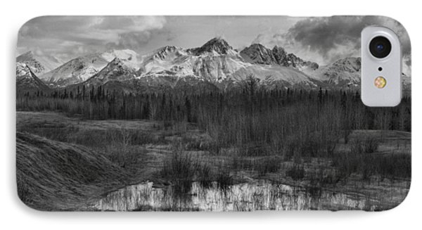 Chugach Mtn Range IPhone Case