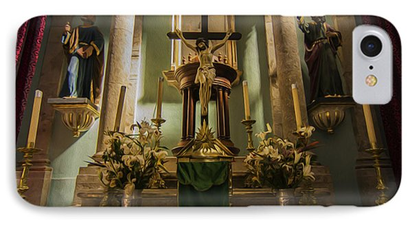 Church Altar IPhone Case by Aged Pixel