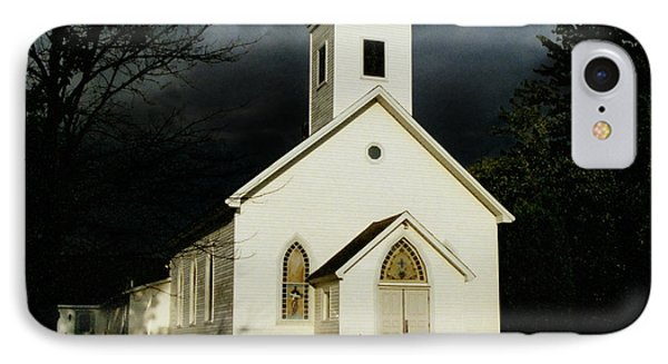 IPhone Case featuring the photograph Church At Dusk by Tom Brickhouse