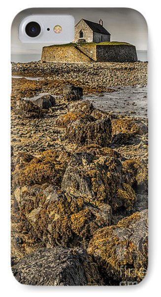 Church By The Rocks IPhone Case by Adrian Evans
