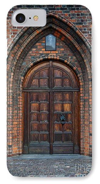 Church Door Phone Case by Antony McAulay