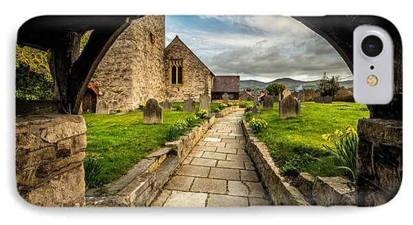 Church Entrance IPhone Case by Adrian Evans