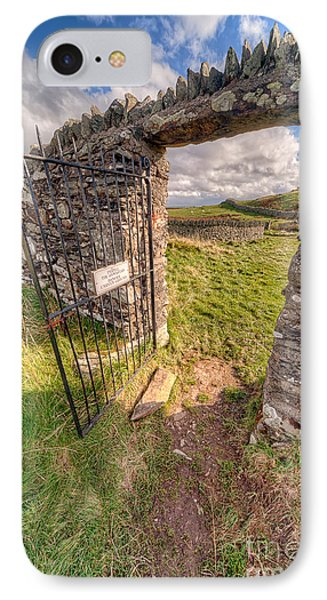 Church Gate IPhone Case by Adrian Evans