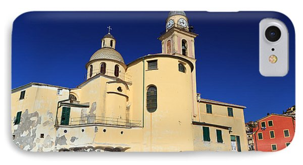 IPhone Case featuring the photograph Church In Camogli by Antonio Scarpi