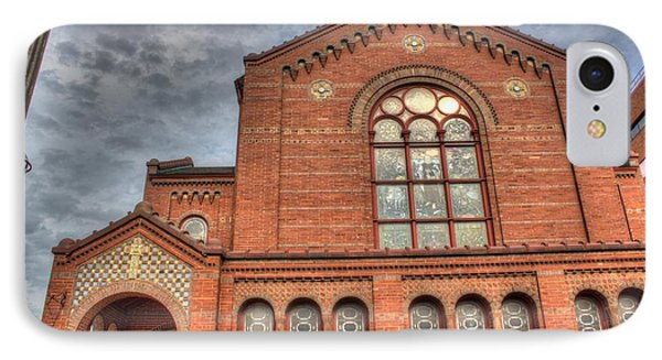 Church In Hdr Phone Case by Tim Buisman