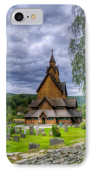 Church In Norway IPhone Case by Mountain Dreams